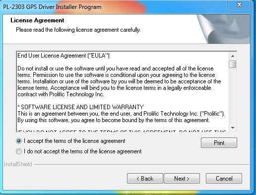 Driver installer programm