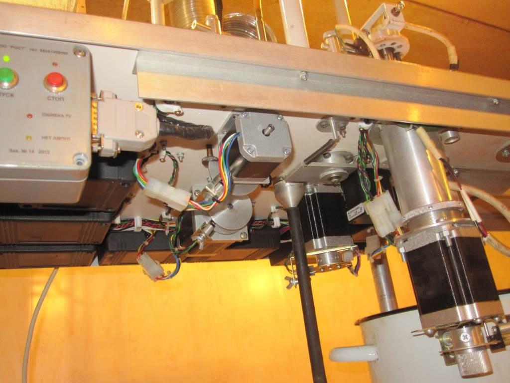 Исполнительные механизмы - шаговые двигатели