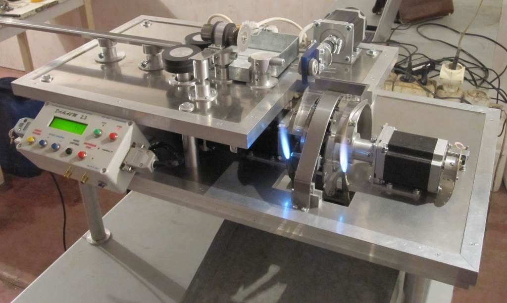 Оборудование для изготовления пипеток