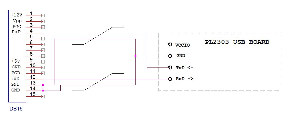 схема адаптера HS12 12010003EU