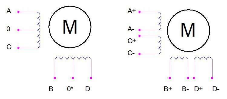 Драйвер Униполярного Шагового Двигателя На Pnp Транзисторах