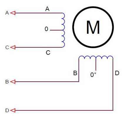 Схема управления шаговым двигателем 4 вывода фото 245