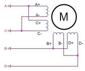 Схема 8 выводов