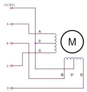 Схема подключения 6 выводов
