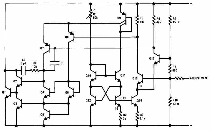 Схема LM335