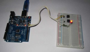 Подключение кнопок и светодиода