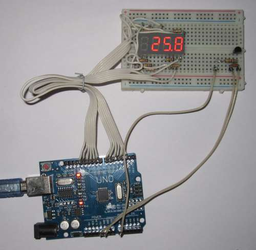 Ардуино термометр