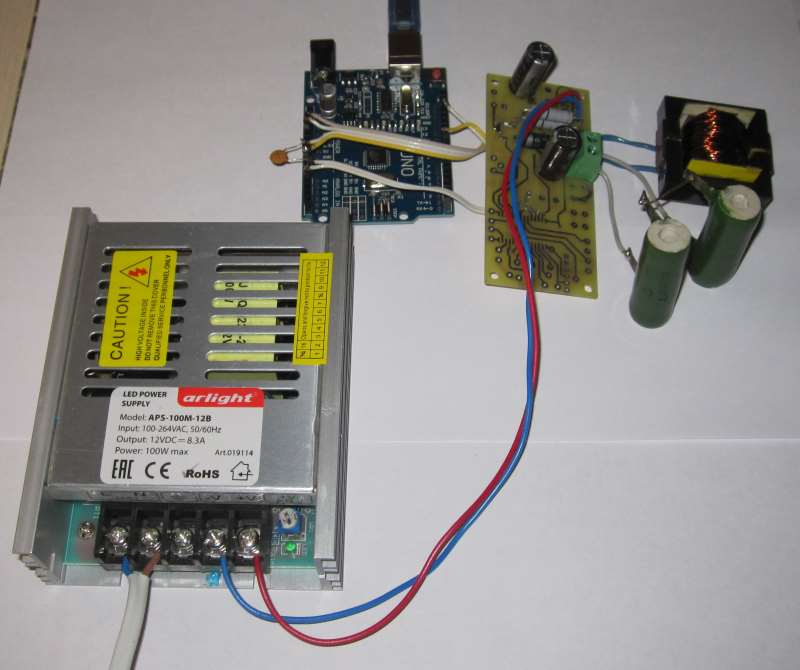 Ардуино-контроллер элемента Пельте
