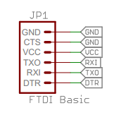 Сигналы программирования Arduino Pro Mini