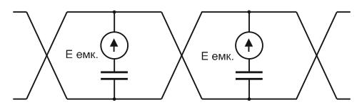 Схема подавления помех витой парой