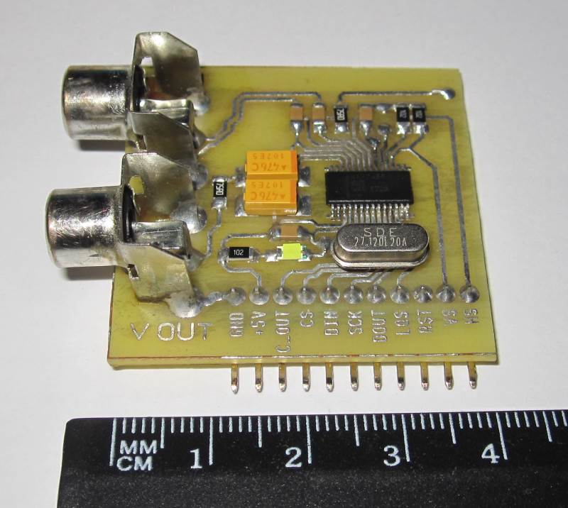 Модуль MAX7456