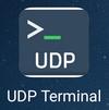 Программа UDP terminal