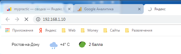 Запрос браузера