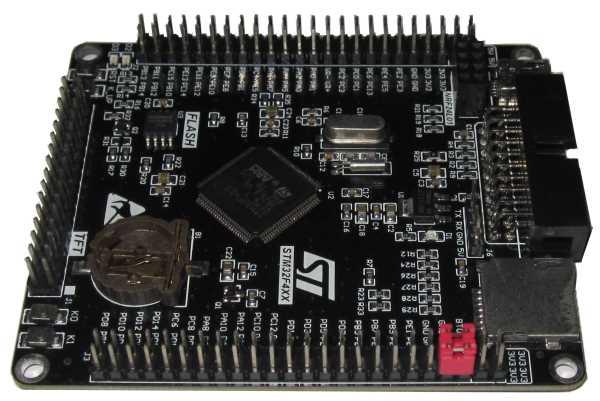 Плата STM32F407VET6