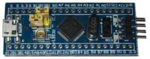 Перемычки STM32F103C8T6