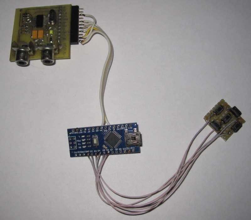 Макет электронного прицела