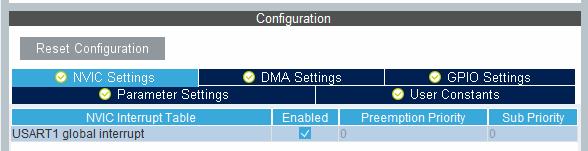 Установка конфигурации STM32CubeMX